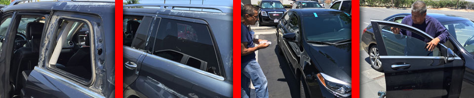 Glass Replacement Before and After, Windshield Replacement, Car Window Repair